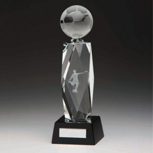 Astra Football Crystal Trophy