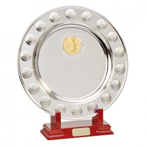 Sterling Golf Salver (stand not included)